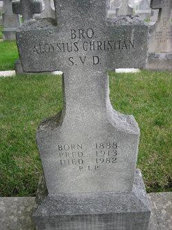 Bro Aloysius Christian