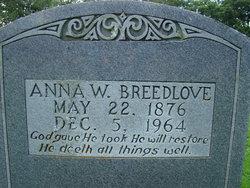Anna Ruth <i>Whitmire</i> Breedlove