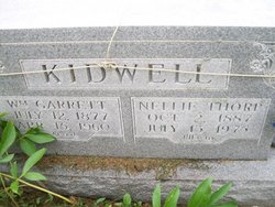 Nellie Belle <i>Thorp</i> Kidwell