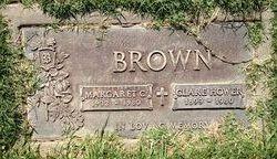 Margaret Claire <i>Manning</i> Brown