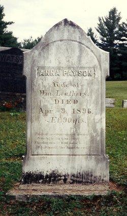 Anna <i>Payson</i> Leathers