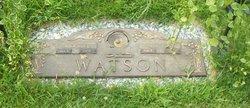 Harold Edwin Watson