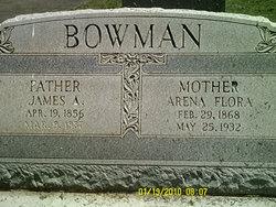 Arena Anna <i>Flora</i> Bowman