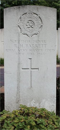 Driver Robert Henry Barrett