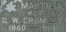 Martilia Ellen <i>Preston</i> Crumley