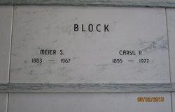 Caryl <i>Pierson</i> Block