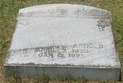 Cynthia Jane Jennie <i>Davis</i> Arnold