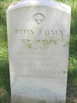 Lieut John J. Jack Daly, Jr