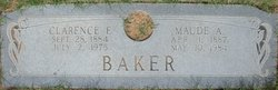 Clarence F Baker