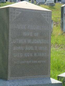 Fannie <i>Knowlton</i> Johnson
