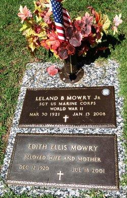 Edith <i>Ellis</i> Mowry
