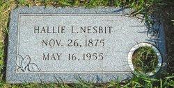 Hallie L. <i>Tinsley</i> Nesbit