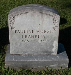 Pauline <i>Morse</i> Franklin
