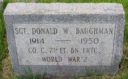 Donald Wilmer Baughman