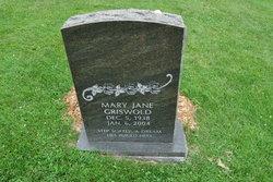 Mary Jane <i>Griswold</i> Zaiser
