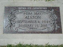 Vera May <i>Leavitt</i> Alston