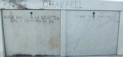 Alice B Chappell