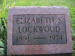 Elizabeth Susan Lizzie <i>Shipman</i> Lockwood