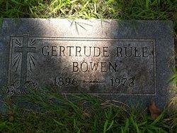 Gertrude <i>Rule</i> Bowen