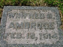 Winfred Rowan Ambrose