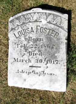 Mary Louisa Louisa <i>Pumphrey</i> Foster