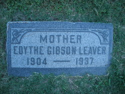 Edythe Virginia Gibson Leaver