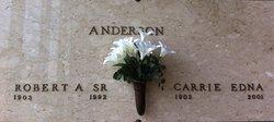 Robert A Anderson, Sr