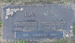 Barbara W. <i>Emmons</i> Payson