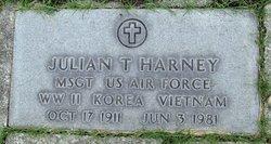 Sgt Julian T Harney