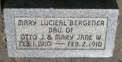 Mary Lucieal Bergener