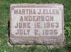 Martha Jane Ellen <i>Frazer</i> Anderson