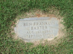 Benjamin Franklin Ben Baxter