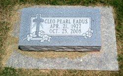 Cleo Pearl <i>Cox</i> Eadus