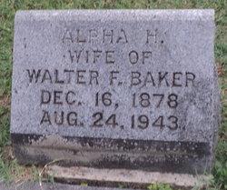 Alpha H. Baker