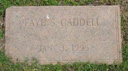 Faye <i>Skidmore</i> Caddell