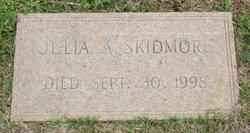 Julia A Skidmore