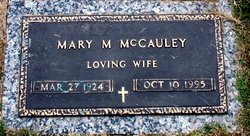 Mary Mildred <i>Mattingly</i> McCauley