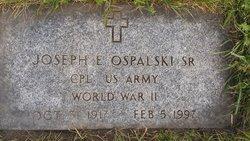 Joseph E Ospalski, Sr