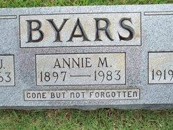 Annie May <i>Rhodes</i> Byars