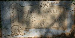 Hazel <i>Daniel</i> Warren