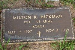 Milton R. Hickman