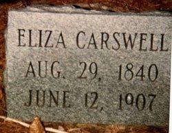 Jane Eliza <i>Denton</i> Carswell
