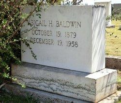 Abigail H Baldwin