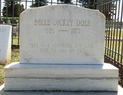 Belle <i>Dickey</i> Dole