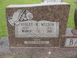 Violet M. <i>Wilson</i> Bailey