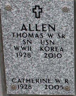 Catherine W R Allen
