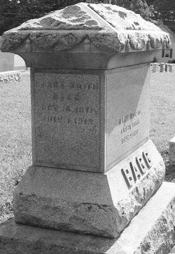Clara Edith Bagg