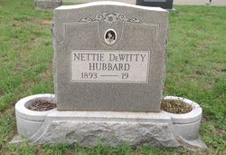 Nettie <i>DeWitty</i> Hubbard