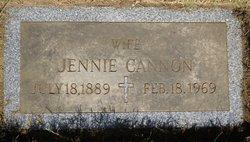 Marie Virginia Jennie <i>Rock</i> Cannon