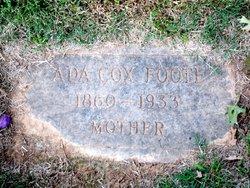Ada <i>Cox</i> Foote